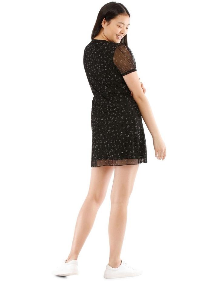 Mesh Wrap Dress image 3