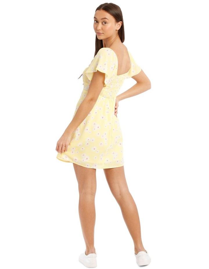 Ruffle Knot Front Dress image 3