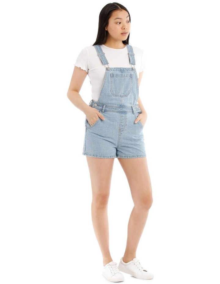 Denim Playsuit image 2