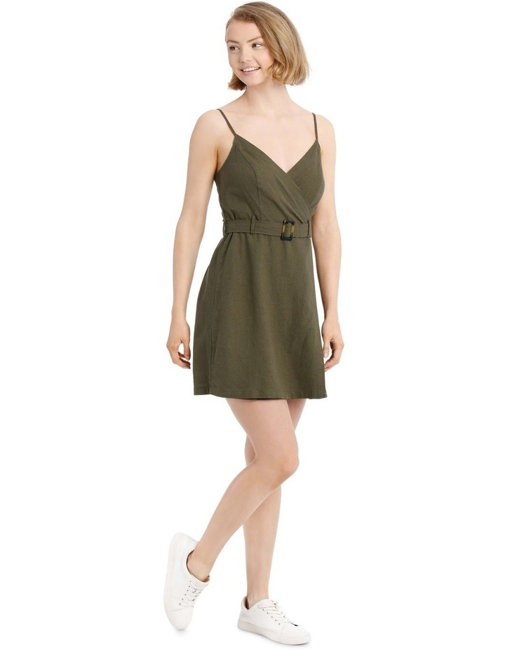 Buckle Wrap Dress image 2