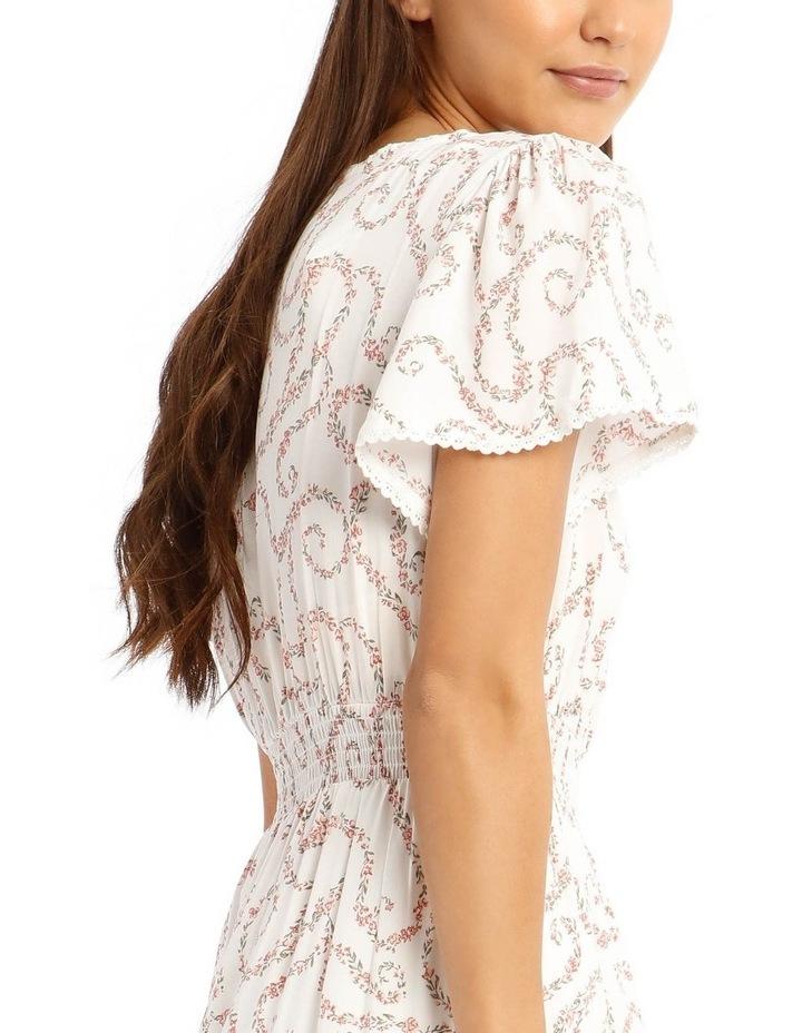 Shirred Waist Soft Dress image 4