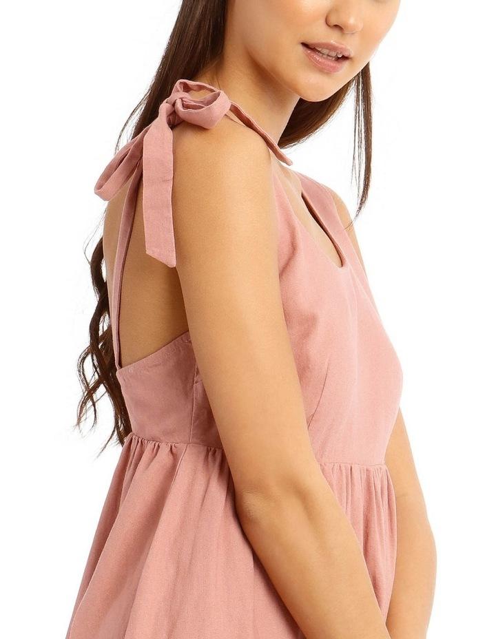 Tie Shoulder Dress image 4