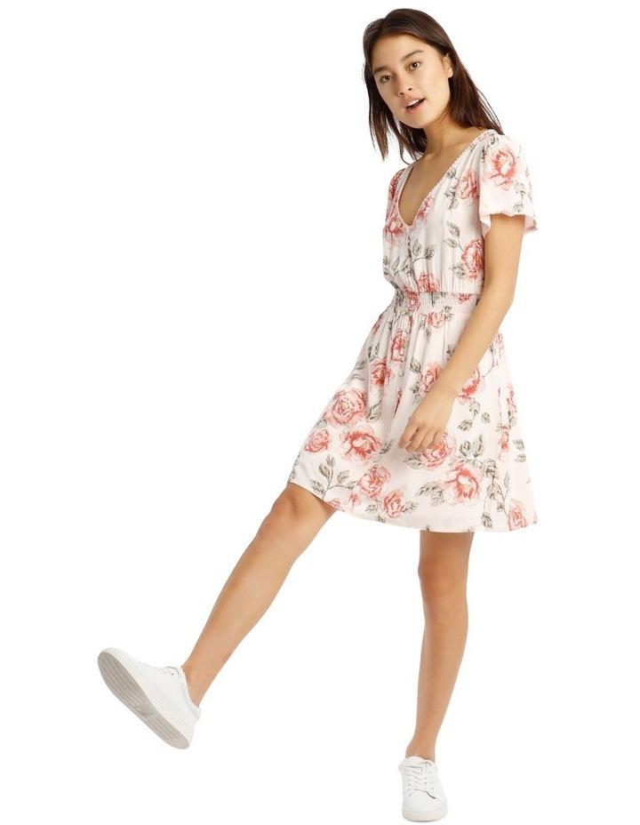 Shirred Waist Soft Dress image 1