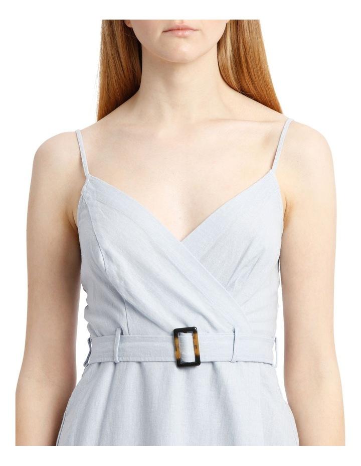 Buckle Wrap Dress image 4