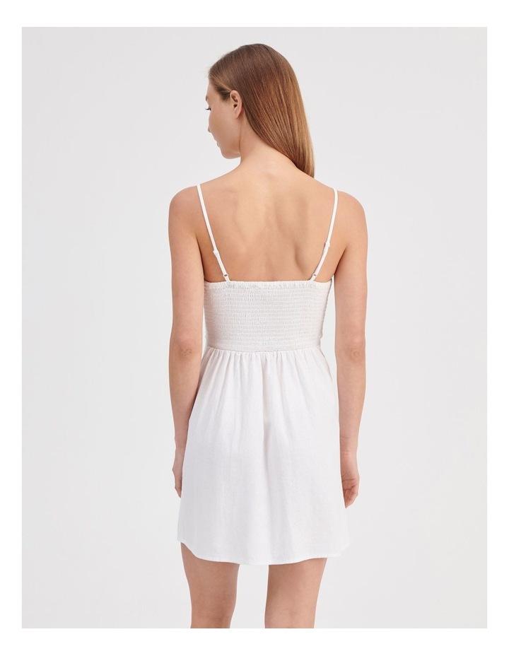 Linen Blend Dress image 4