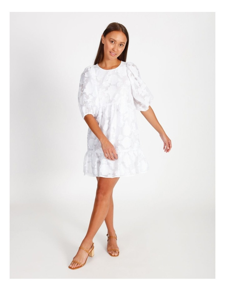 Puff Sleeve Dress image 1