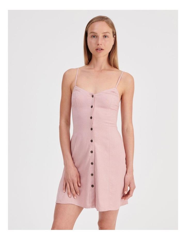 Linen Blend Dress image 1