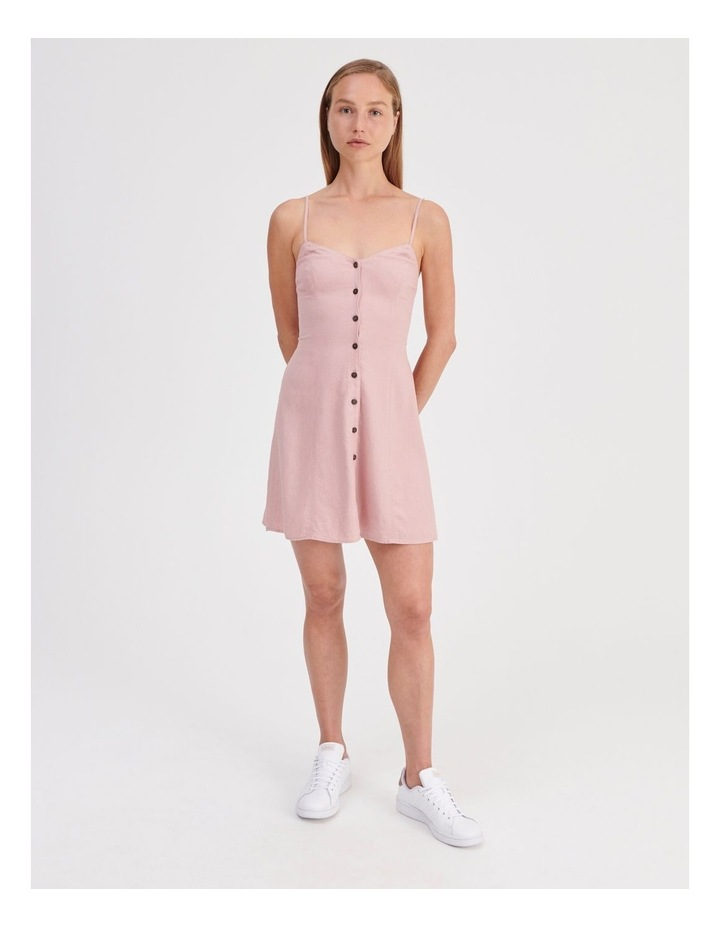 Linen Blend Dress image 2