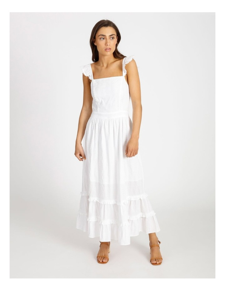 Tiered Maxi Embroidered Dress image 1