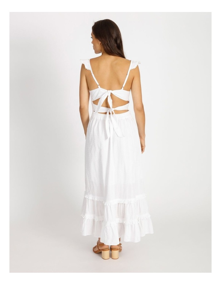 Tiered Maxi Embroidered Dress image 2