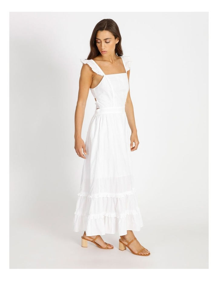 Tiered Maxi Embroidered Dress image 3