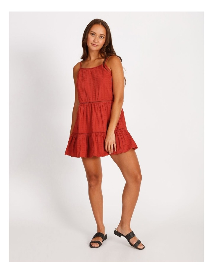 Tie Back Tiered Hem Dress image 1