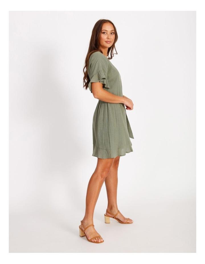 Textured Wrap Dress image 2