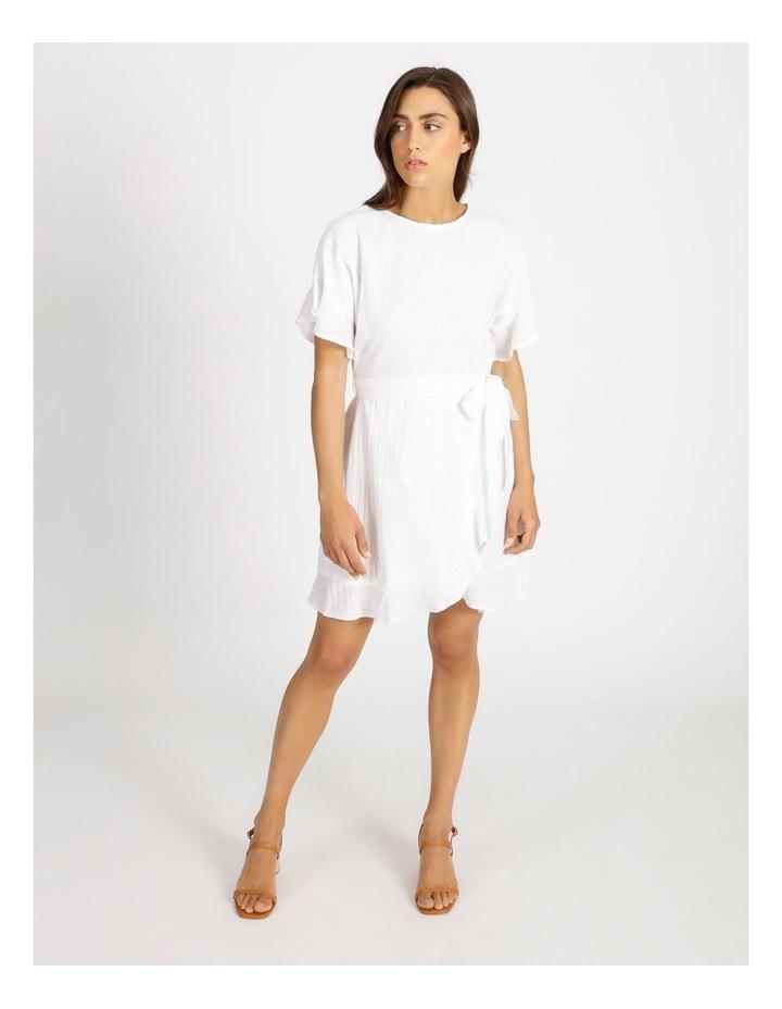 Textured Wrap Dress image 1
