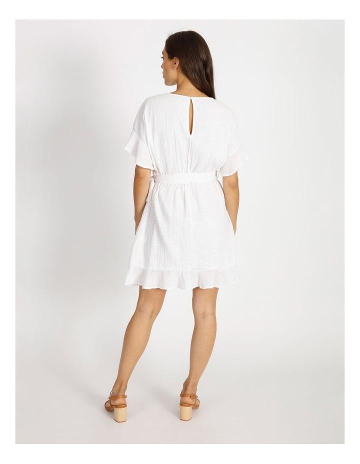 Textured Wrap Dress image 3