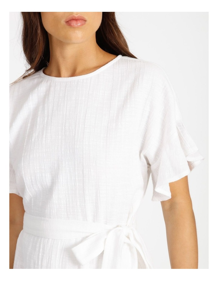 Textured Wrap Dress image 4