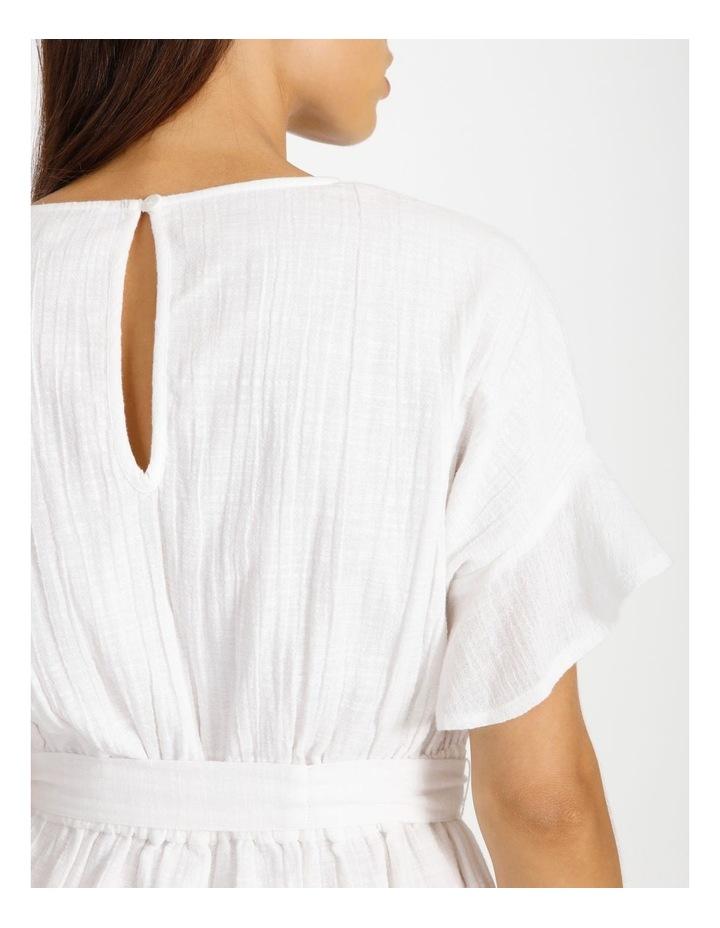 Textured Wrap Dress image 5