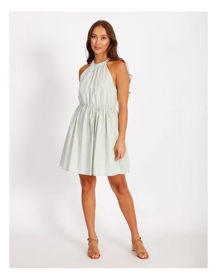 Halter Neck Swing Dress image 1