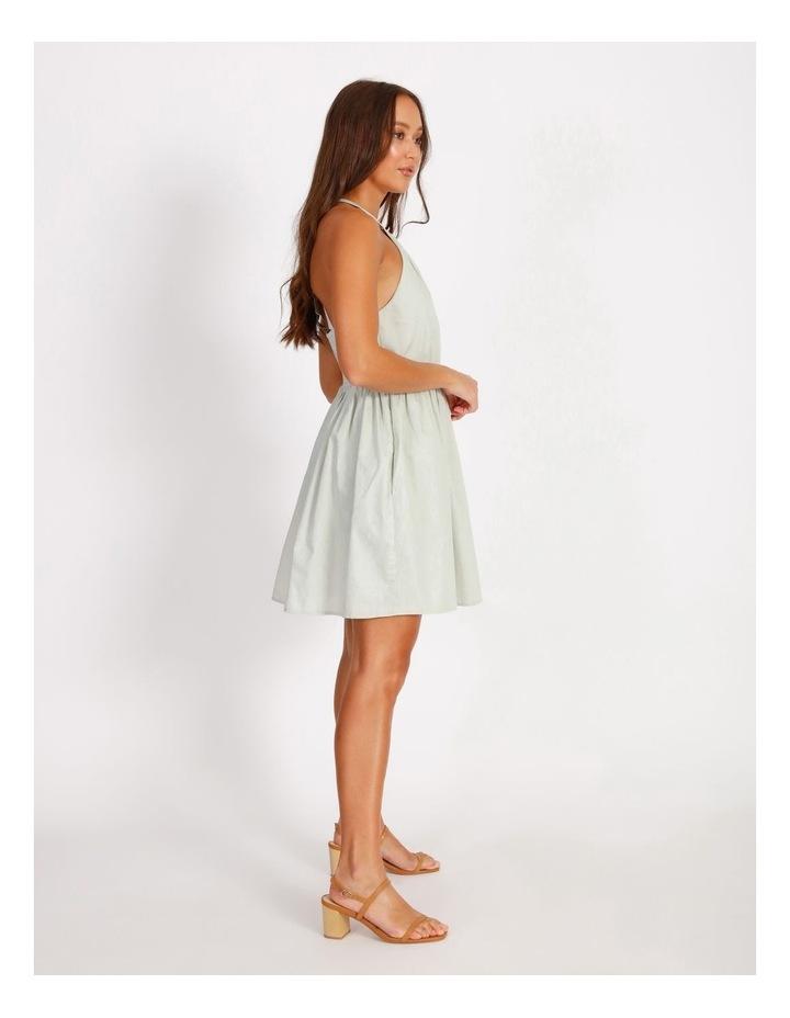 Halter Neck Swing Dress image 2