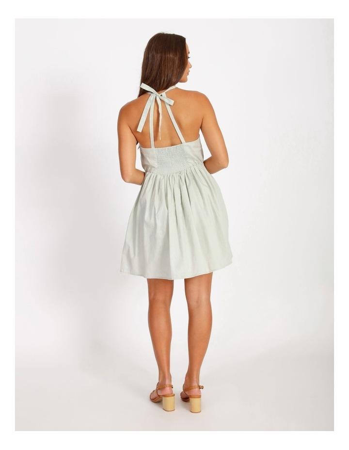 Halter Neck Swing Dress image 3