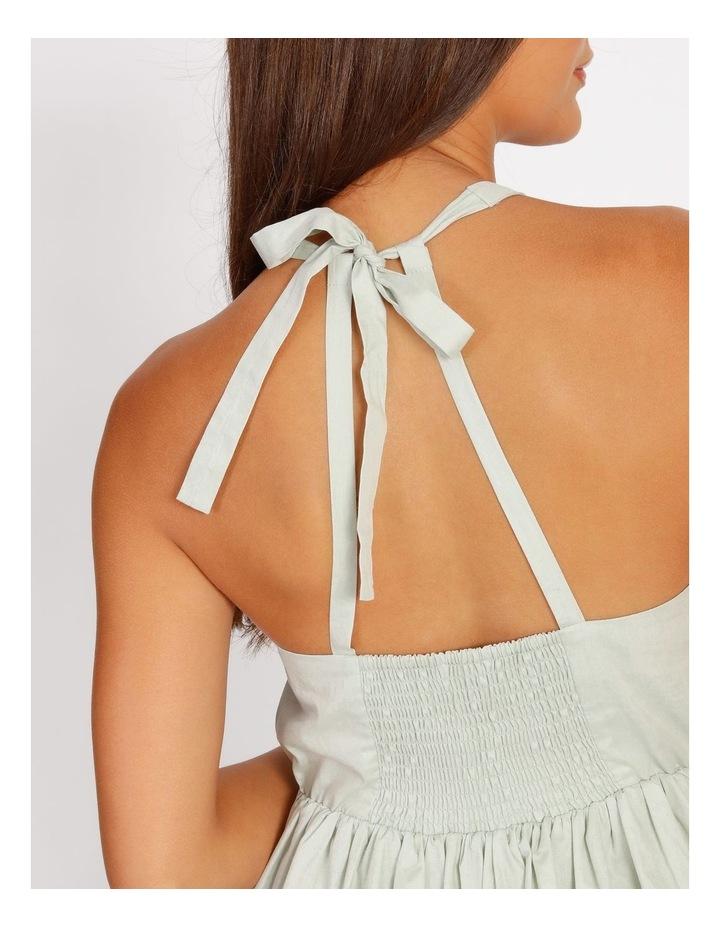 Halter Neck Swing Dress image 4