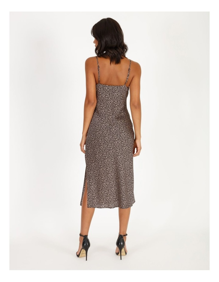 Cowl Neck Midi Slip Dress image 3