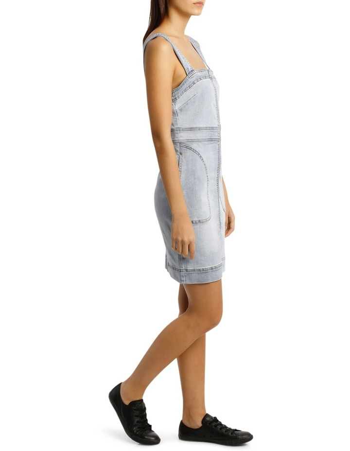 Alexis Fitted Denim Dress image 2