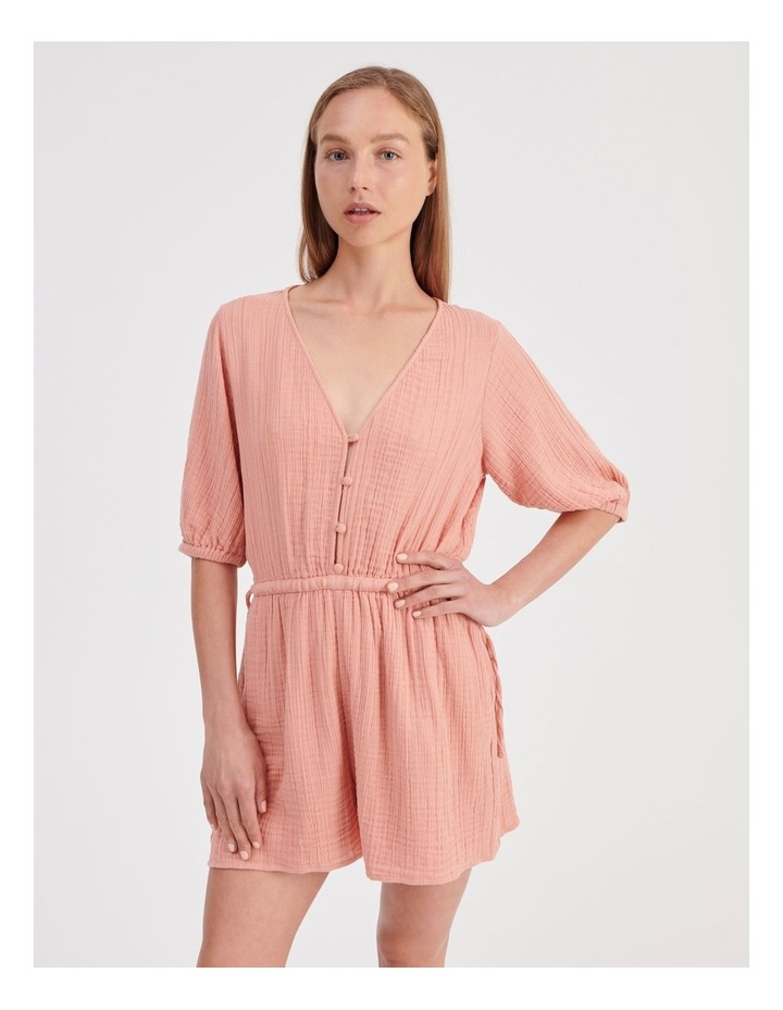 Double Cheesecloth Playsuit image 1