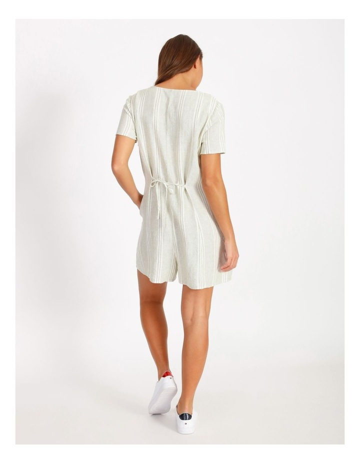 Relaxed Playsuit - Stripe image 3
