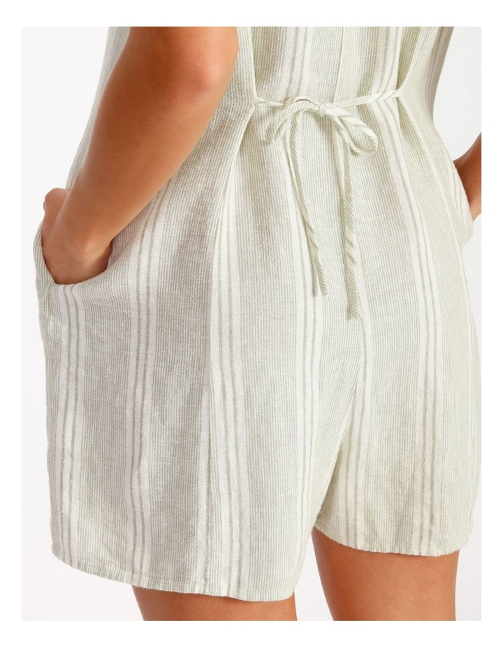 Relaxed Playsuit - Stripe image 4