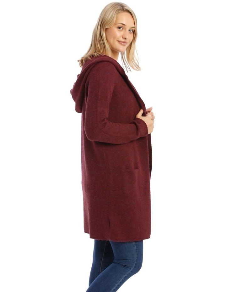Hooded Longline Cardigan image 2