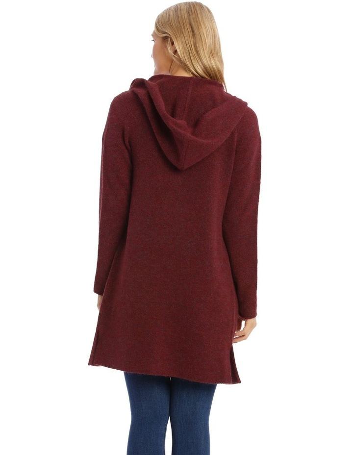 Hooded Longline Cardigan image 3
