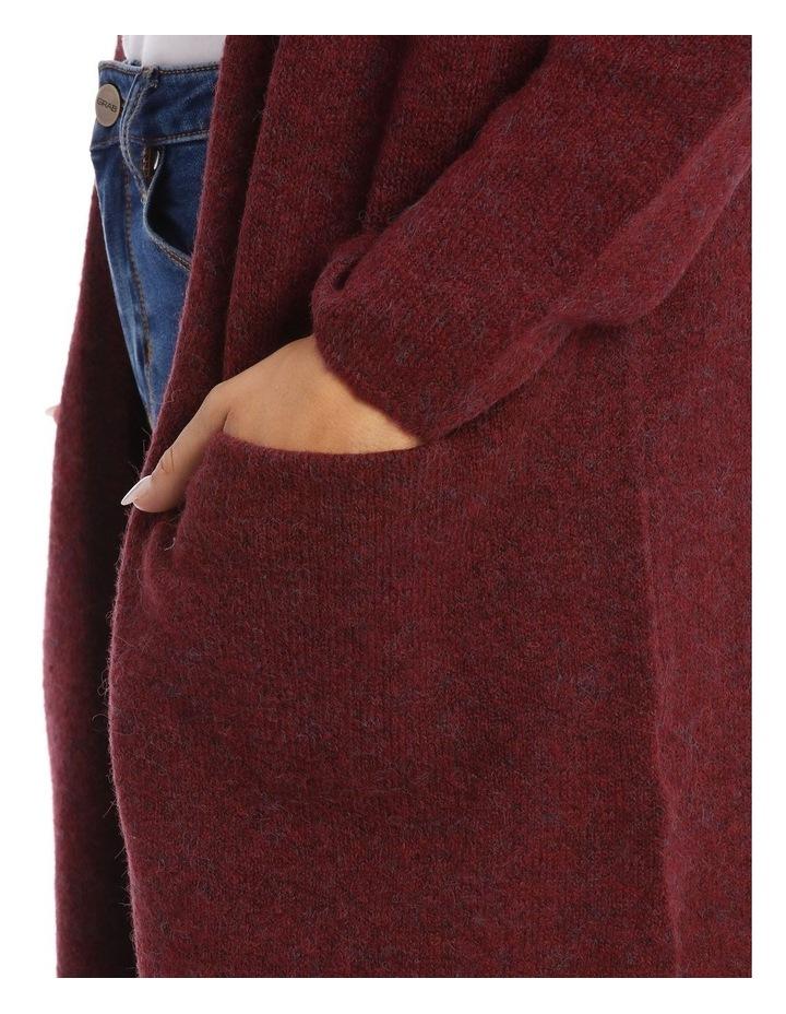 Hooded Longline Cardigan image 4