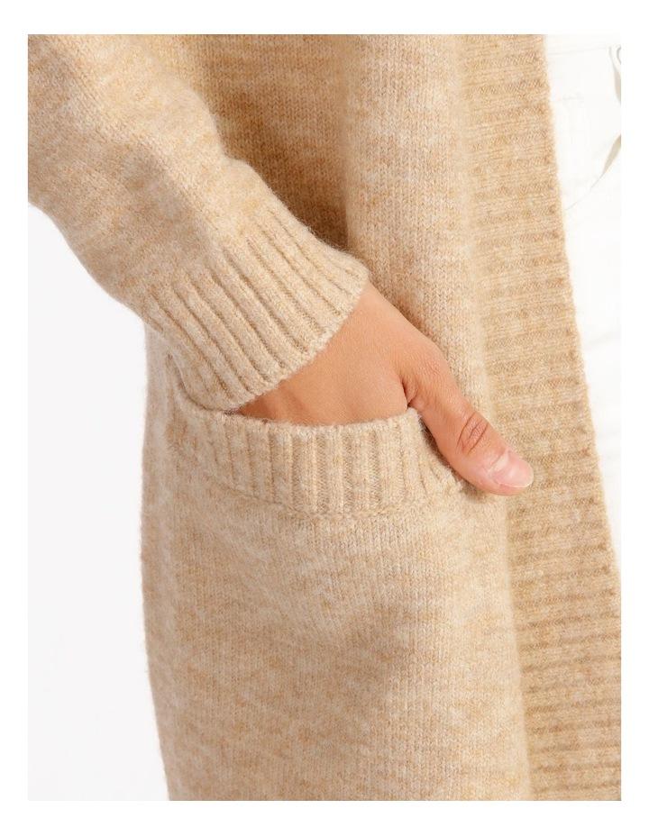 Longline Pocket Detail Cardigan image 4