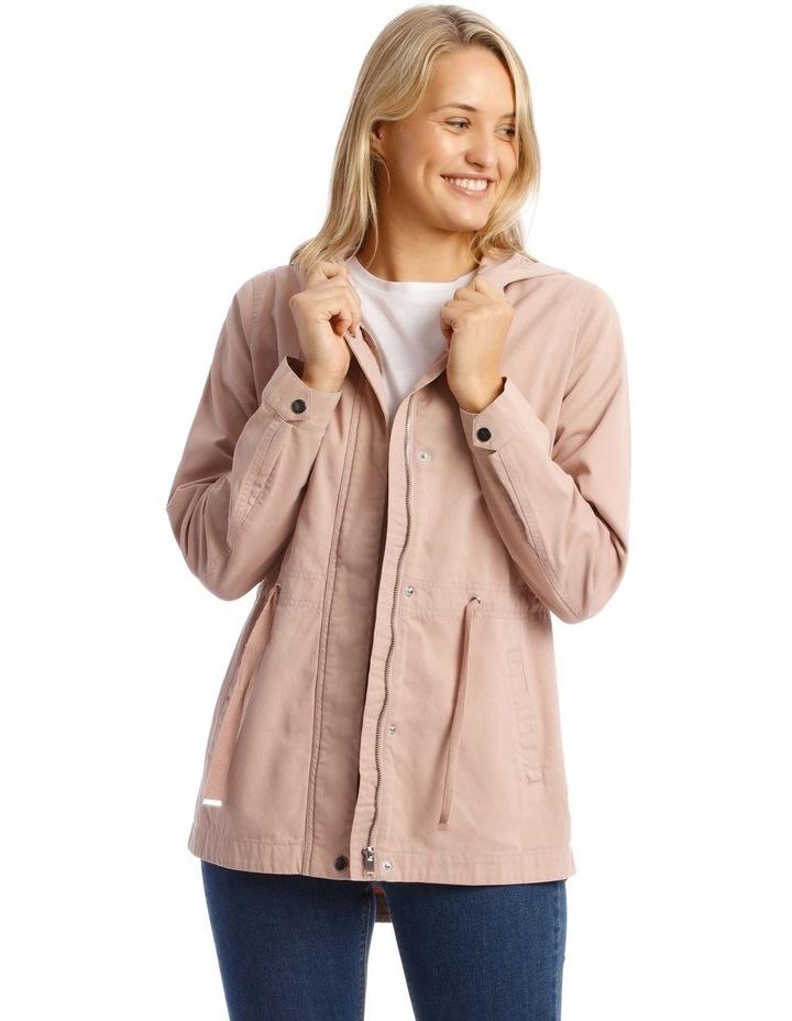 Dusty Pink Utility Jacket image 1