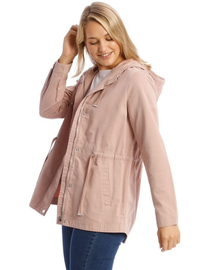 Dusty Pink Utility Jacket image 2