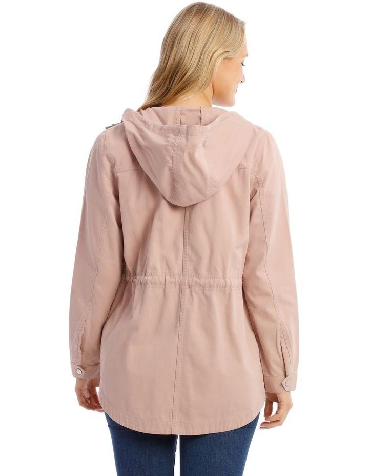 Dusty Pink Utility Jacket image 3