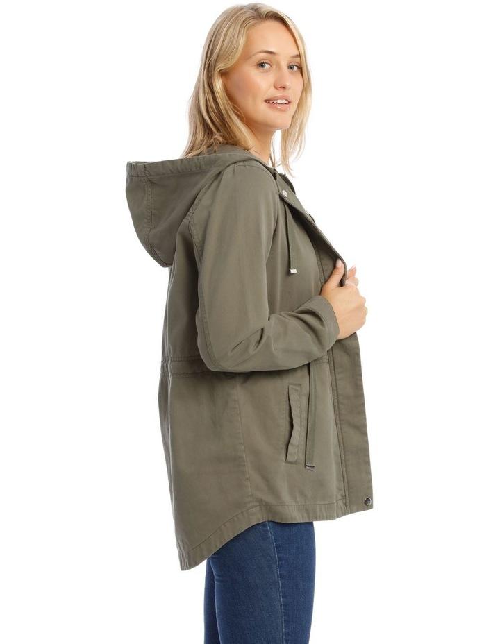 Khaki Utility Jacket image 2