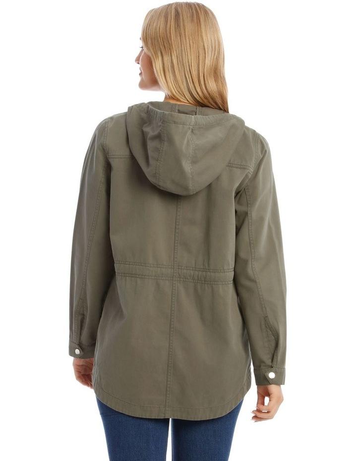 Khaki Utility Jacket image 3