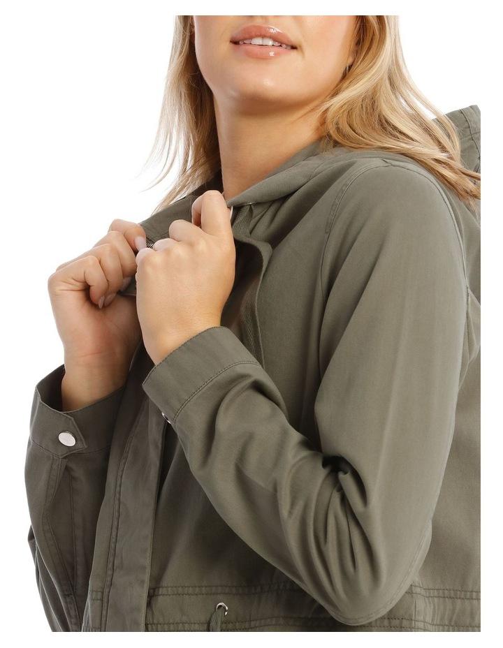 Khaki Utility Jacket image 4