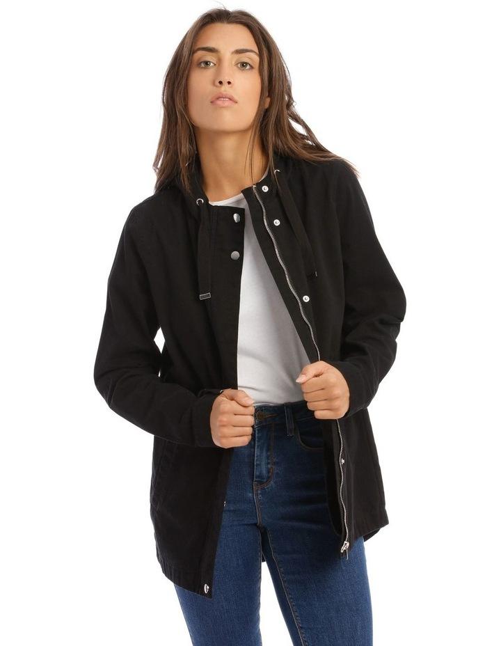 Black Utility Jacket image 1