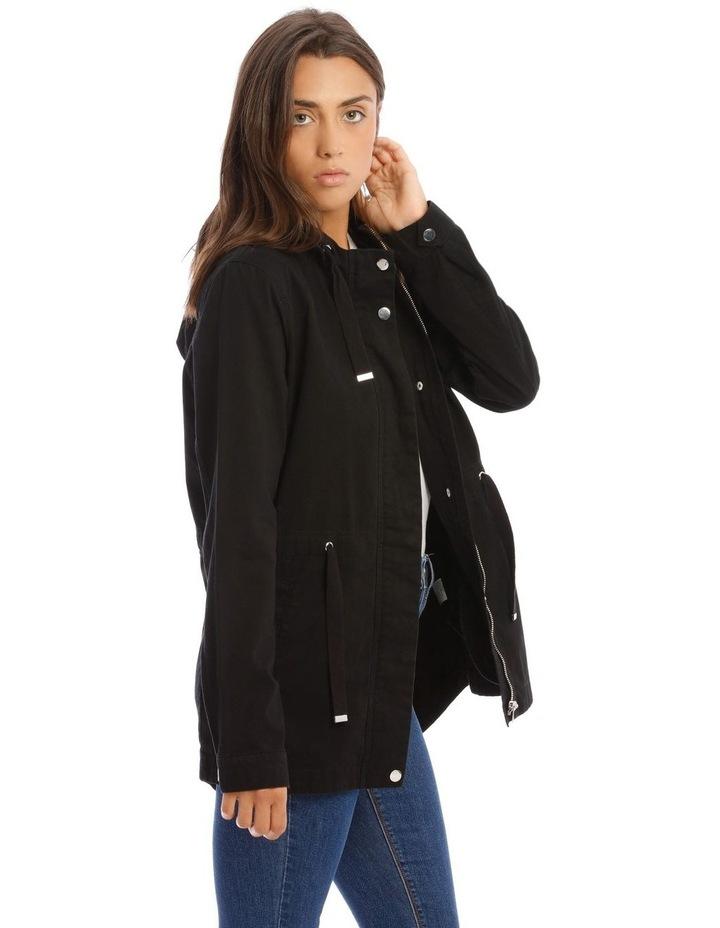Black Utility Jacket image 2