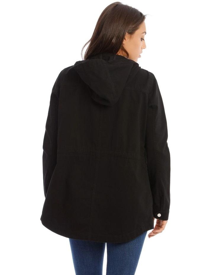 Black Utility Jacket image 3