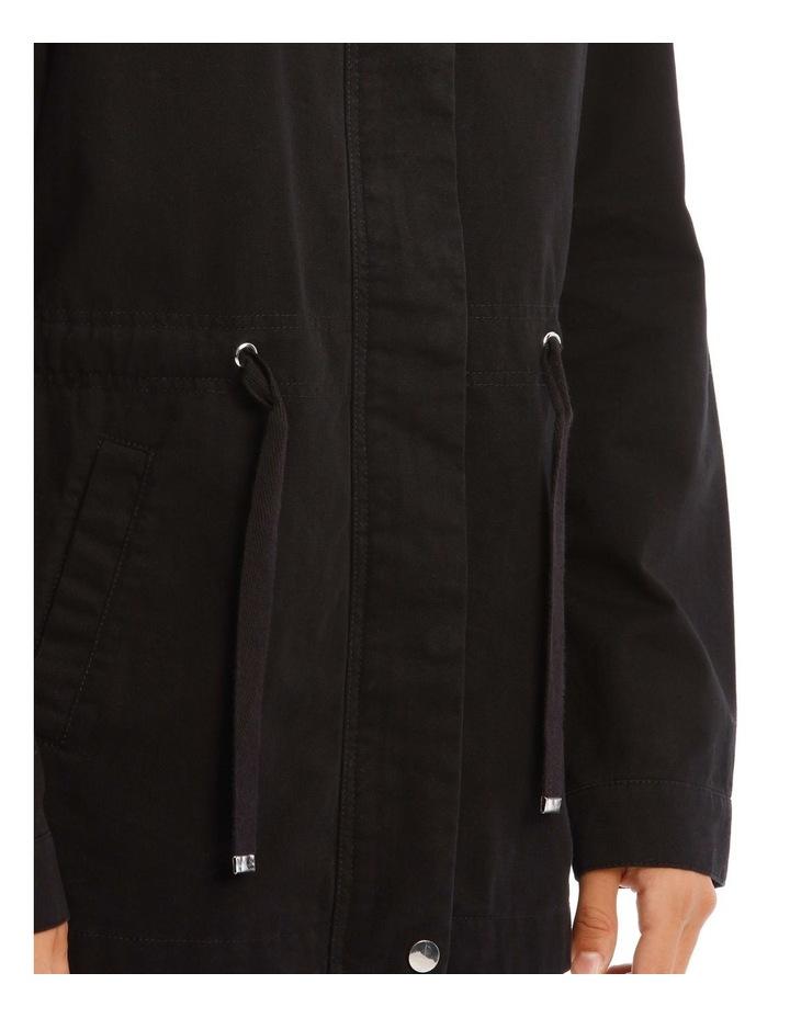 Black Utility Jacket image 4