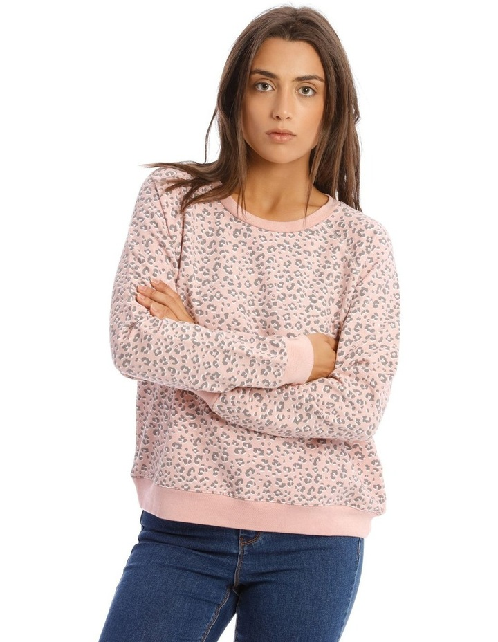 Relaxed Neck Sweat Top image 1