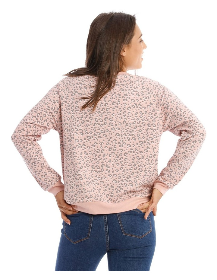 Relaxed Neck Sweat Top image 3