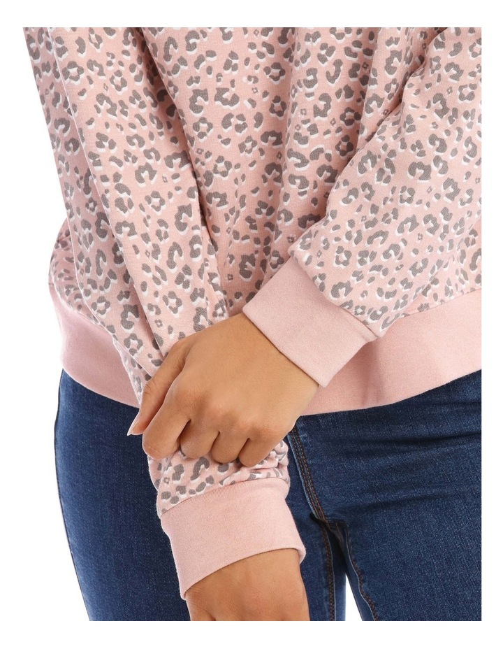 Relaxed Neck Sweat Top image 4