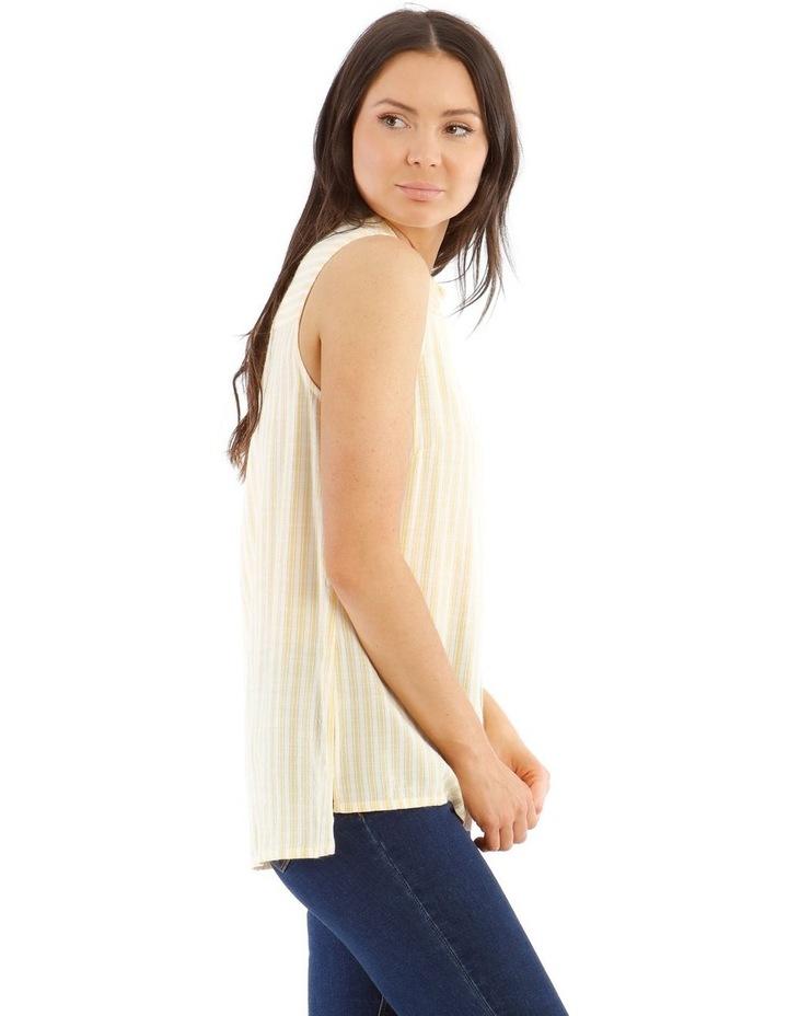 Sleeveless Button-Down Shirt image 2