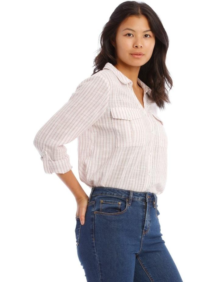 Textured Double Pocket Shirt image 2