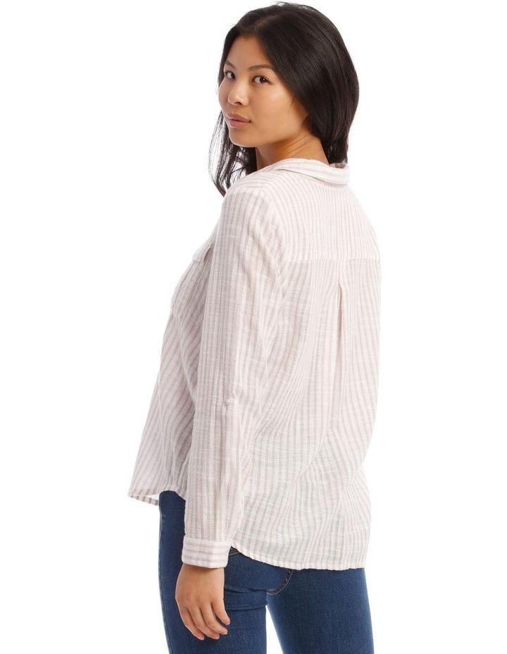 Textured Double Pocket Shirt image 3